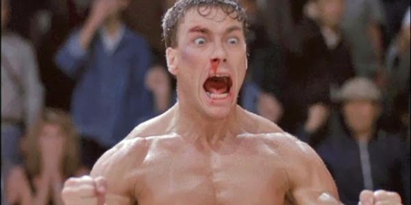 Jean-Claude Van Damme Bloodsport Berserker