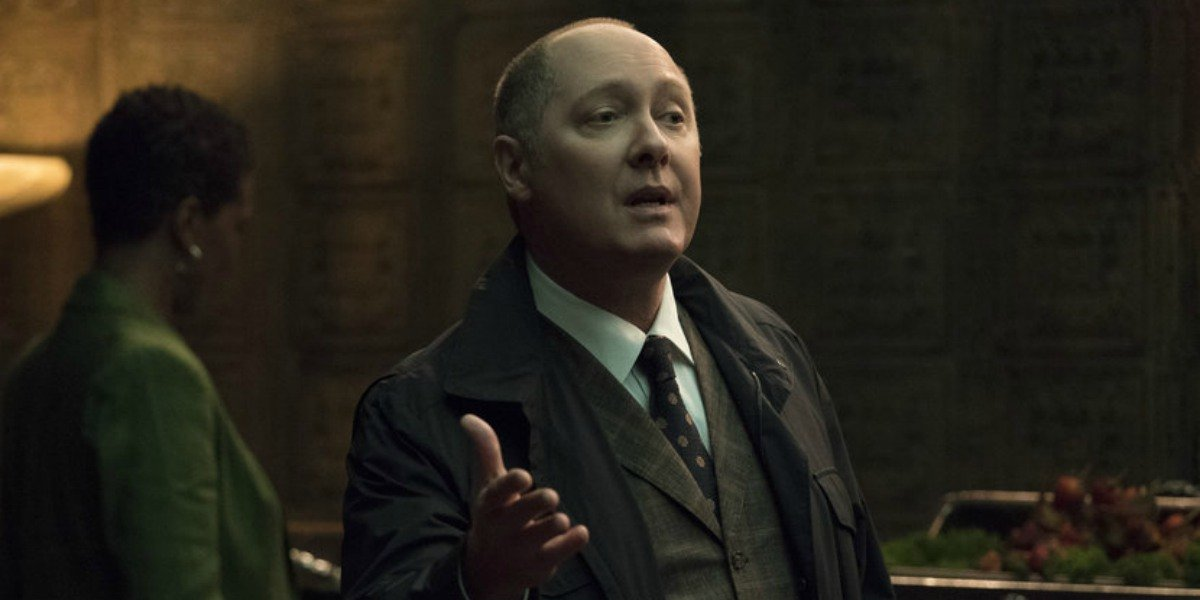 James Spader as Red in The Blacklist.