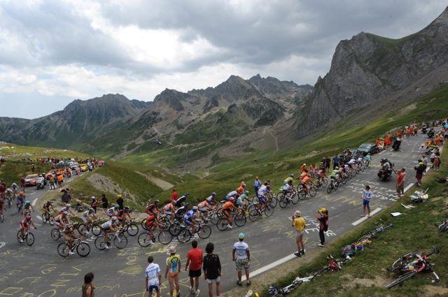 Tourmalet on stage 16, Tour de France 2010