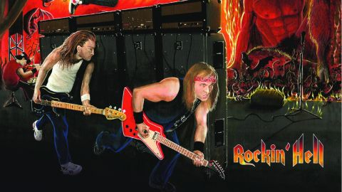 Cover art for Overdrivers - Rockin' Hell album