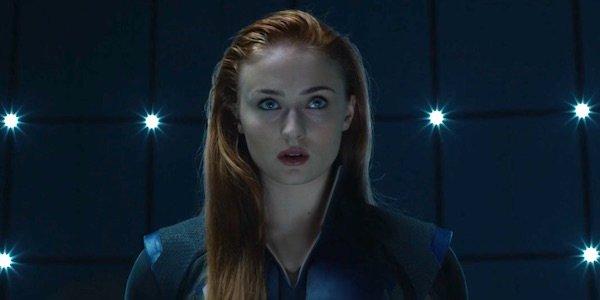 Sophie Turner Jean Grey X-men apocalypse danger room scene
