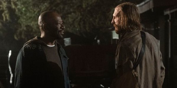 Dwight and Morgan meet on Fear The Walking Dead