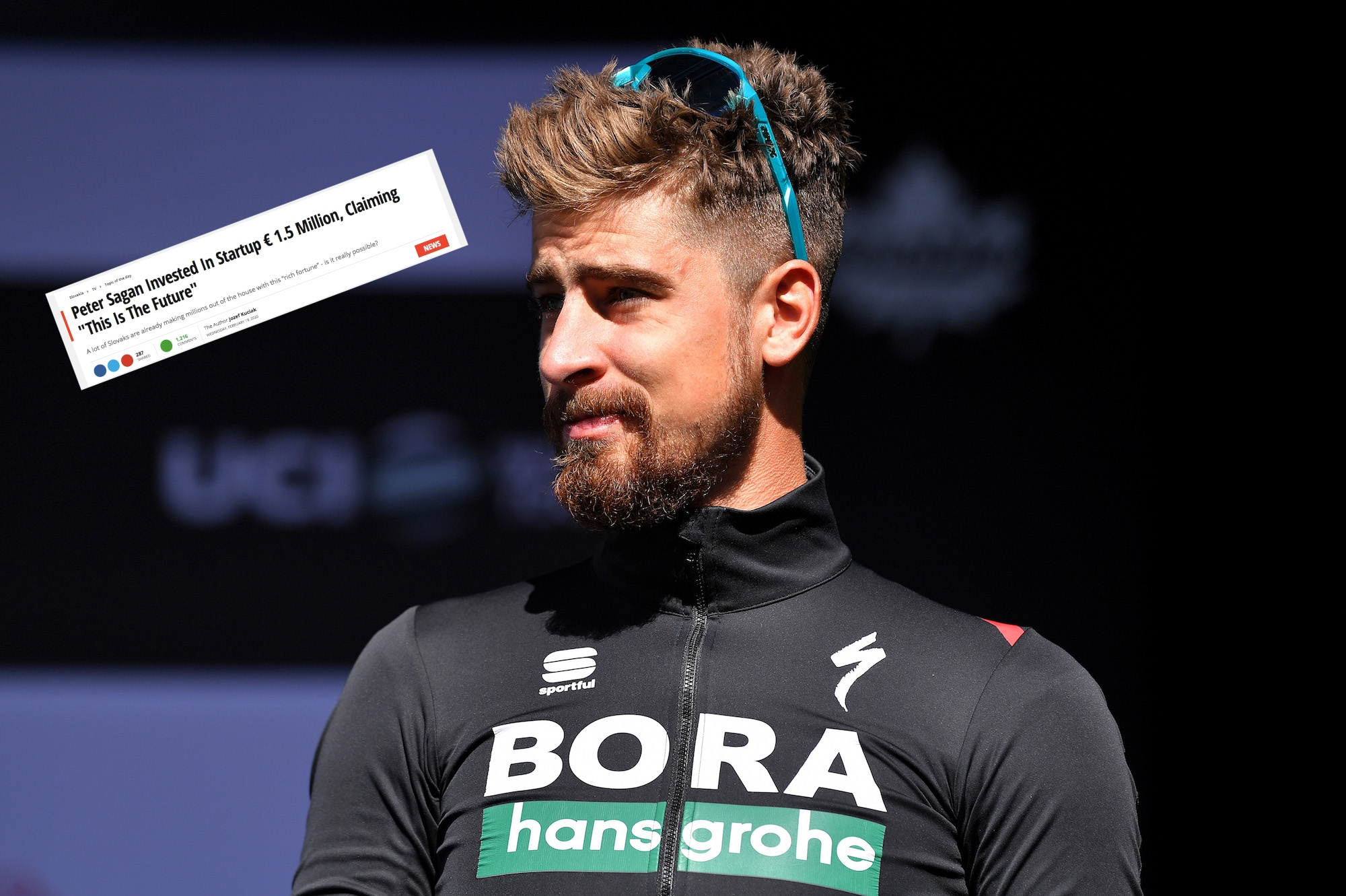 Peter Sagan forced to deny involvement in cryptocurrency scam after fake news article emerges - Cycling Weekly