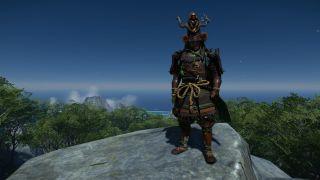 Ghost of Tsushima: Iki Island Sarugami armor
