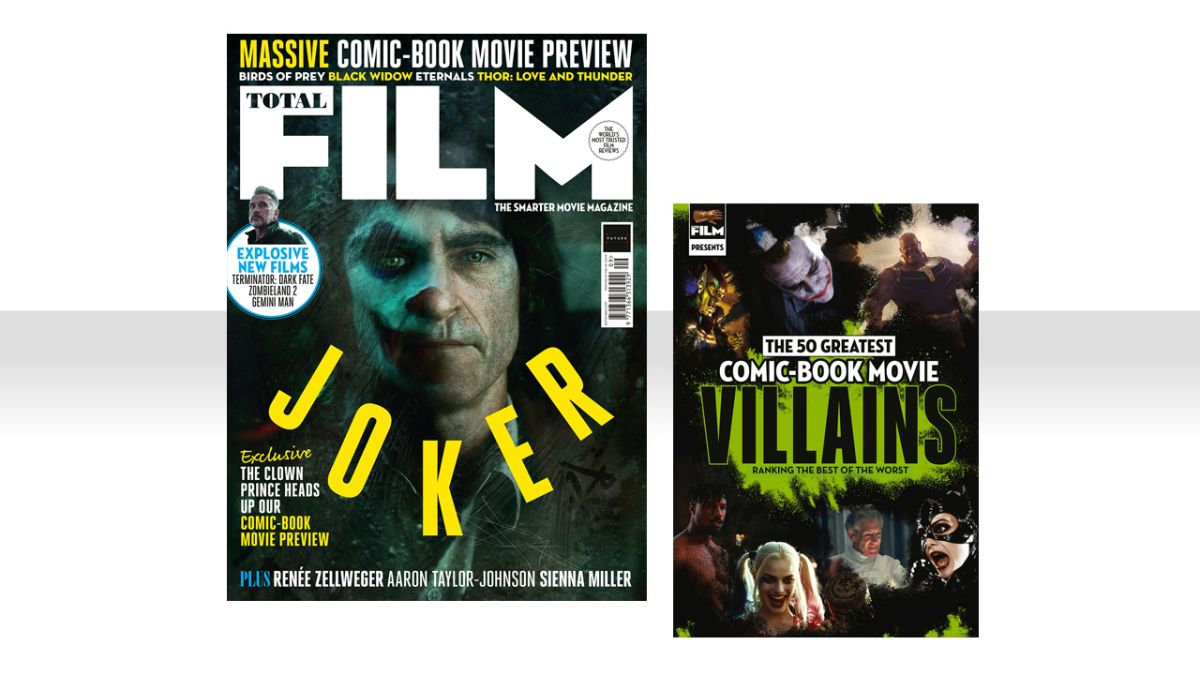 Joaquin Phoenix?s Joker lands on the cover of Total Film magazine?s new issue ? on sale now!