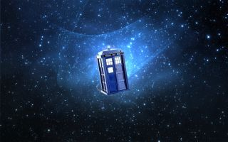 "Tardis of ""Dr. Who"""