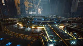 Cyberpunk 2077 map size
