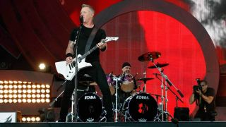 Metallica at the 2016 Global Citizen Festival in New York