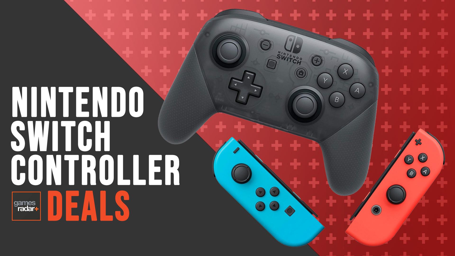 Cheap Nintendo Switch Controller Deals Offers On Joy Cons And Pro Models Gamesradar