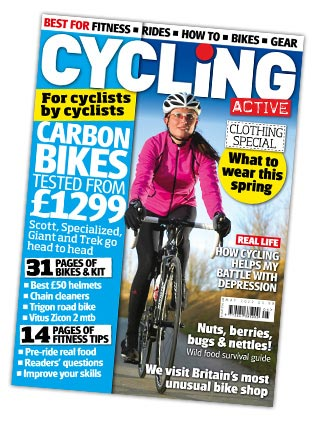 Cycling Active May 2012 issue