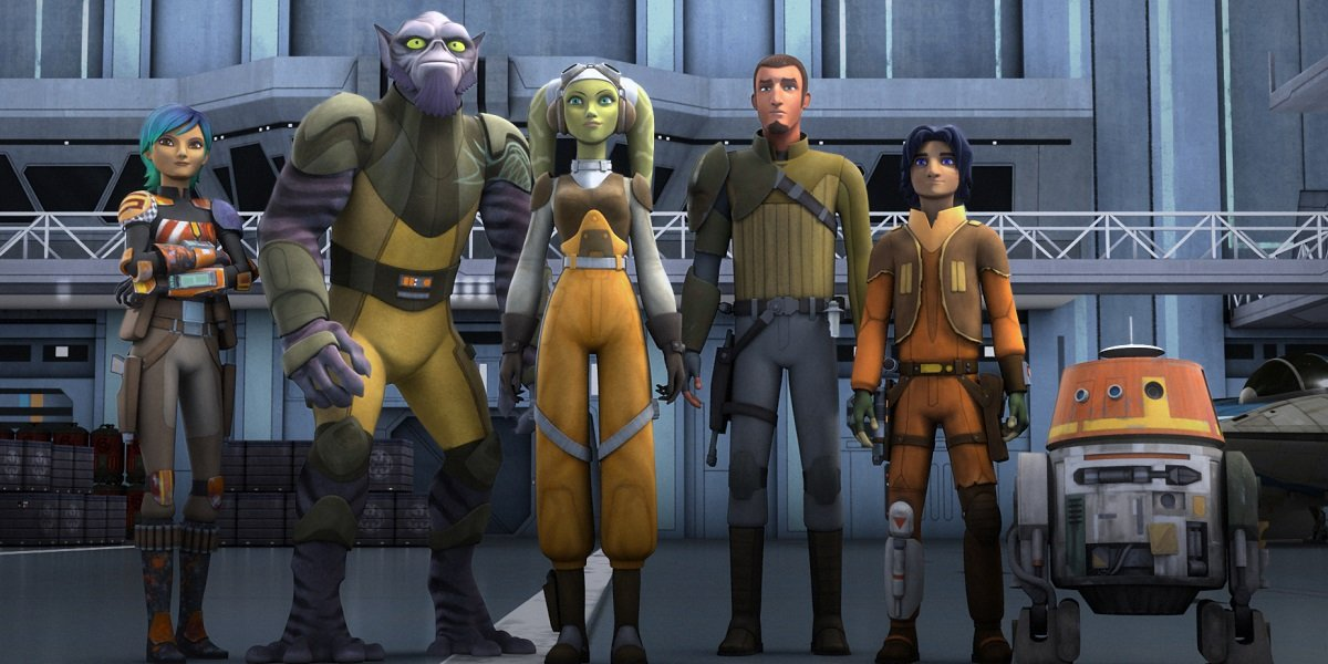 Star Wars Rebels Disney+