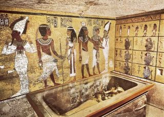 King Tut's tomb in Egypt's Valley of the Kings.