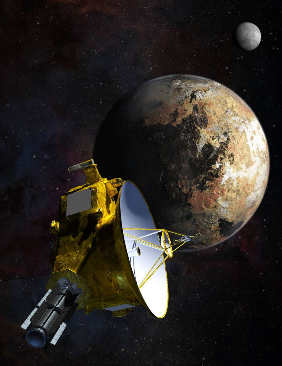 space probe to pluto - HD 970×1255