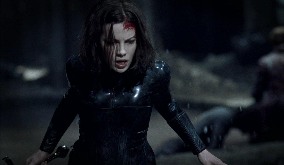 Underworld Kate Beckensale bloodied in battle