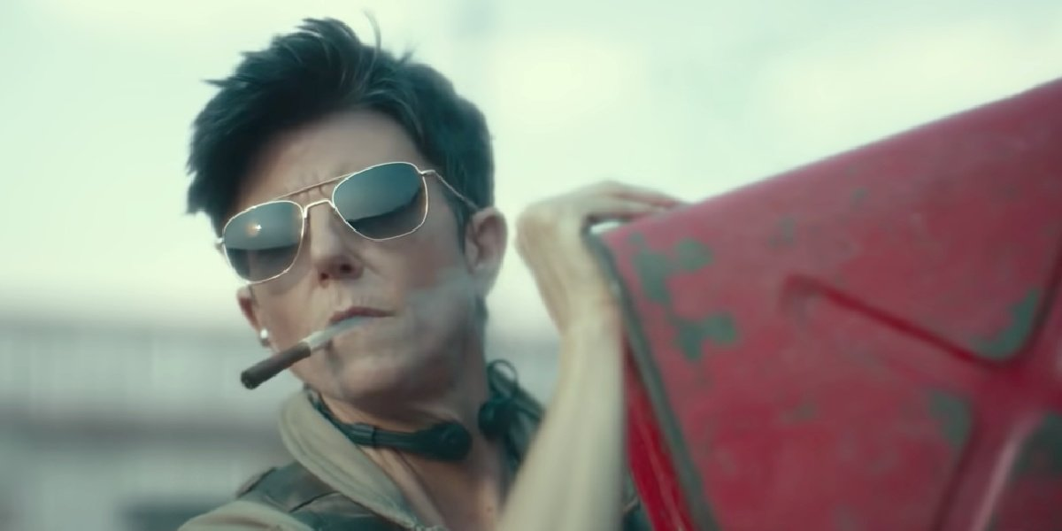 Tig Notaro as Marianna Peters in Army of the Dead.