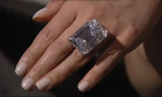 a giant flawless 100 carat diamond