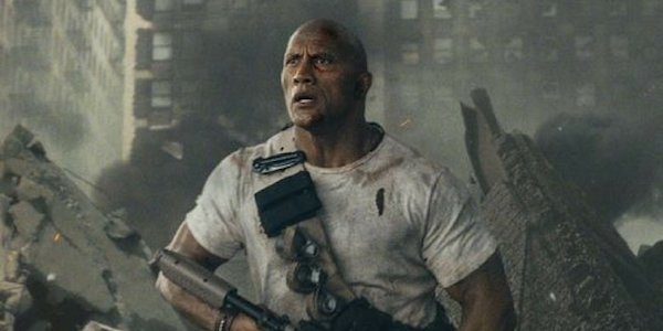 "Dwayne ""The Rock"" Johnson in Rampage"
