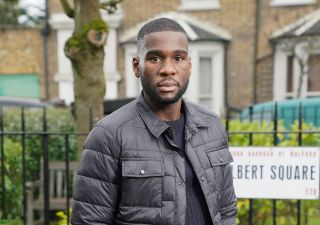 Isaac Baptiste reaches crisis point in EastEnders.
