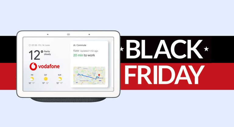 Get Superfast Vodafone Broadband From Just 22 And A Free Google Nest Hub Max In This Black Friday Bonanza T3