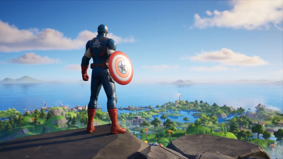 You can now play as Captain America in Fortnite