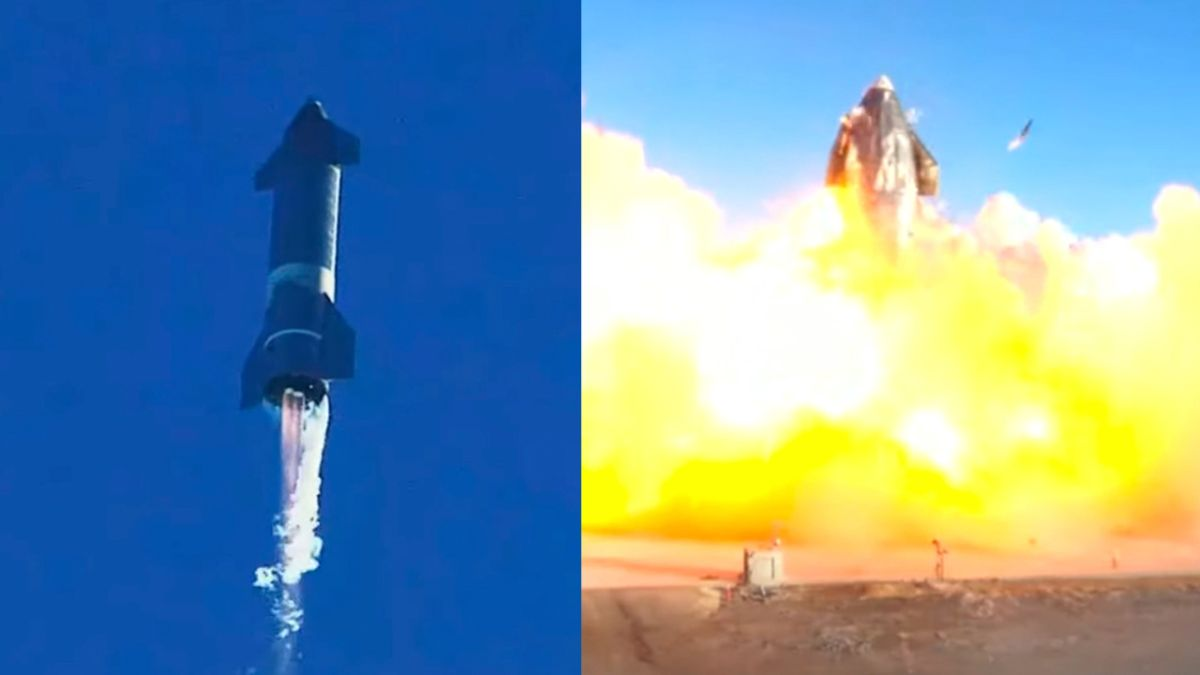 SpaceX's Starship SN8 prototype soars on epic test launch, with explosive landing