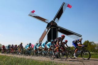 during stage two of the 2016 Giro d'Italia, a 190km stage from Arnhem to Nijmegen on May 07, 2016 in Nijmegen, Netherlands.