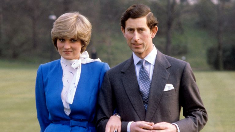 Prince Charles and Lady Diana Spencer announce their engagement