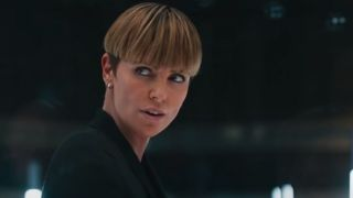 Charlize Theron as Cipher in F9