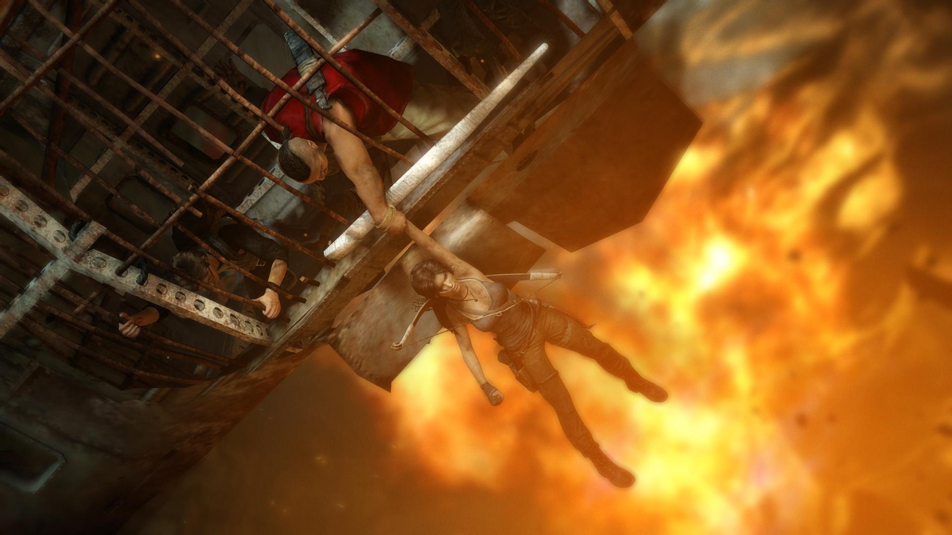Tomb Raider Screenshots Explore Temple, Fight Samurai #25771