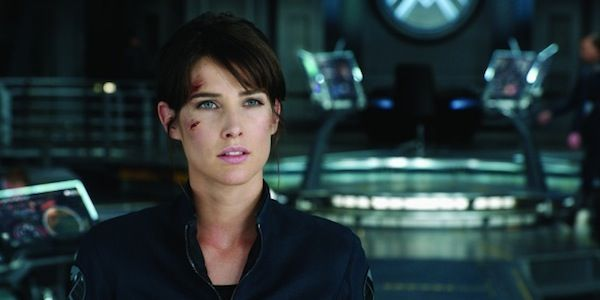 Cobie Smulders as maria Hill in The Avengers