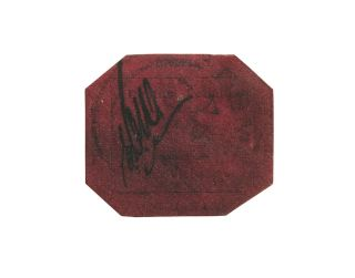 British Guiana One-Cent Magenta Stamp