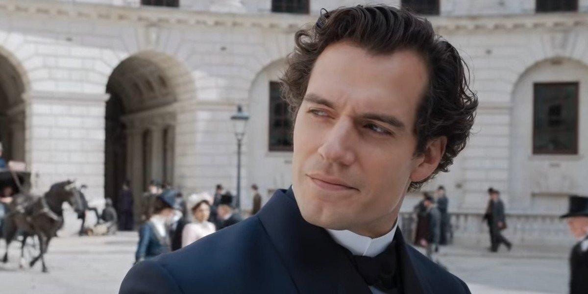 Henry Cavill as Sherlock Holmes in Enola Holmes (2020)