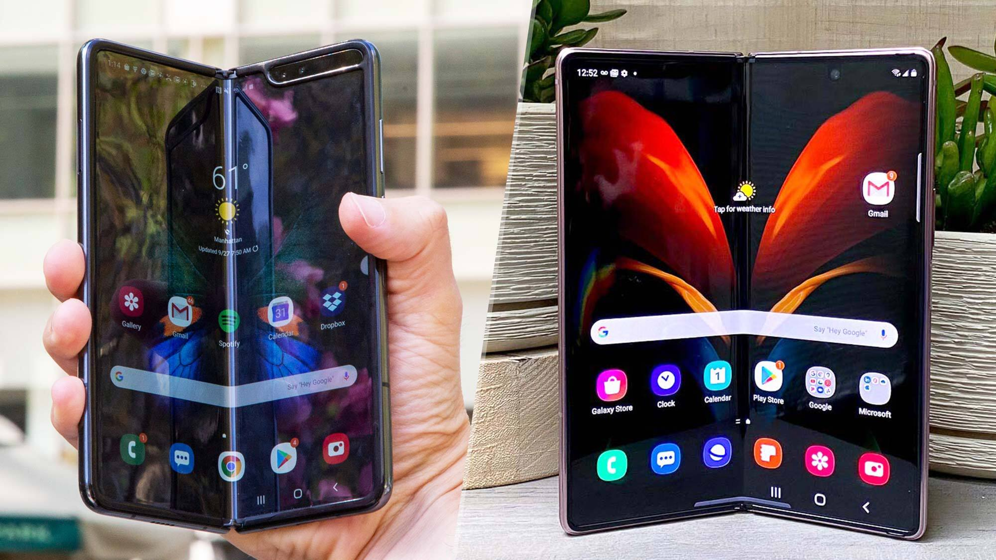 Samsung Galaxy Z Fold 2 Vs Galaxy Fold What S Different Tom S Guide