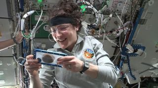 Houston, we have a bake-off! We finally know what happens when you bake cookies in space
