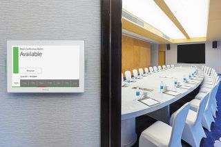 Extron Releases Larger 10-Inch Room Scheduling Panel