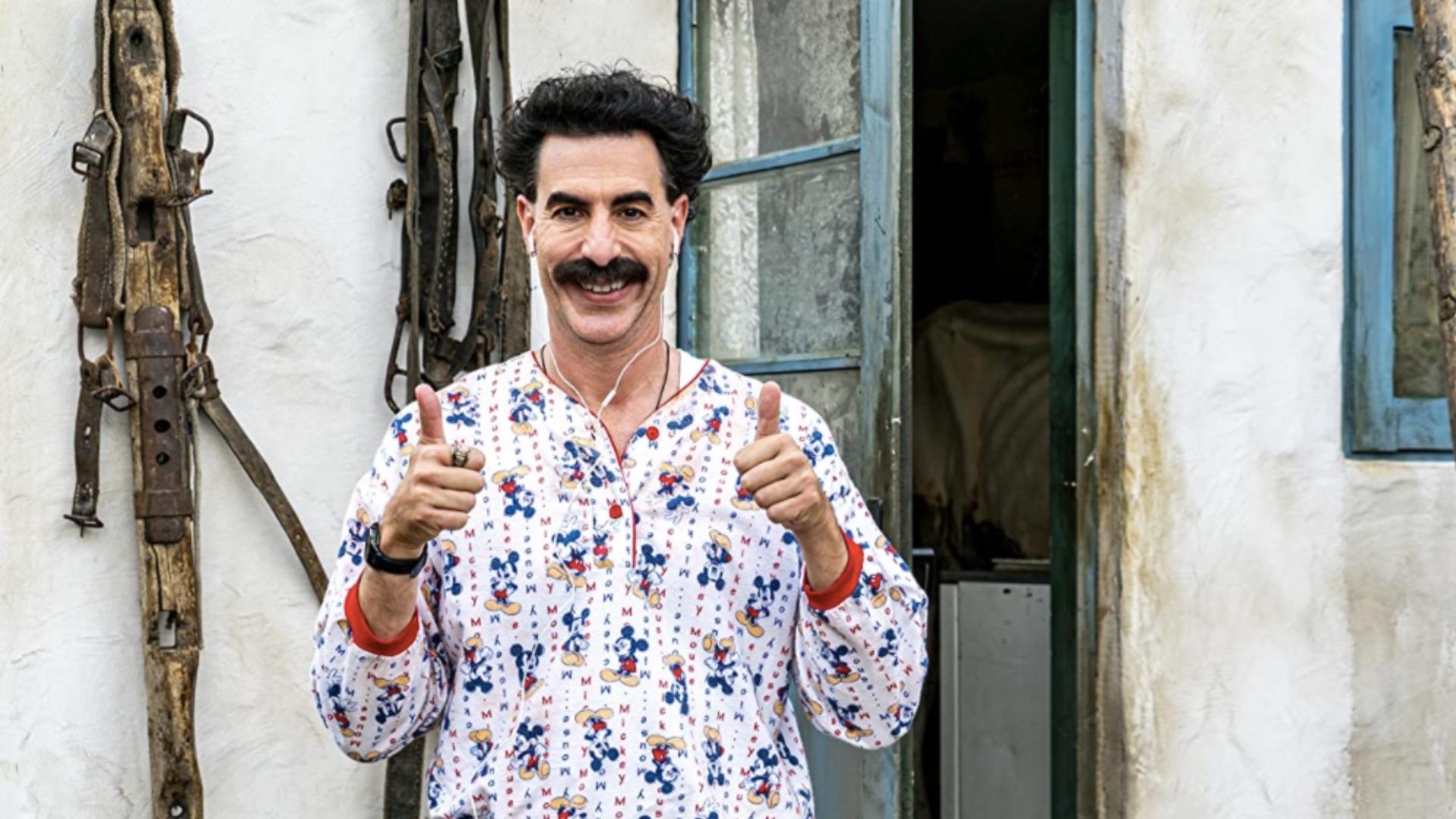 Sacha Baron-Cohen en Borat 2