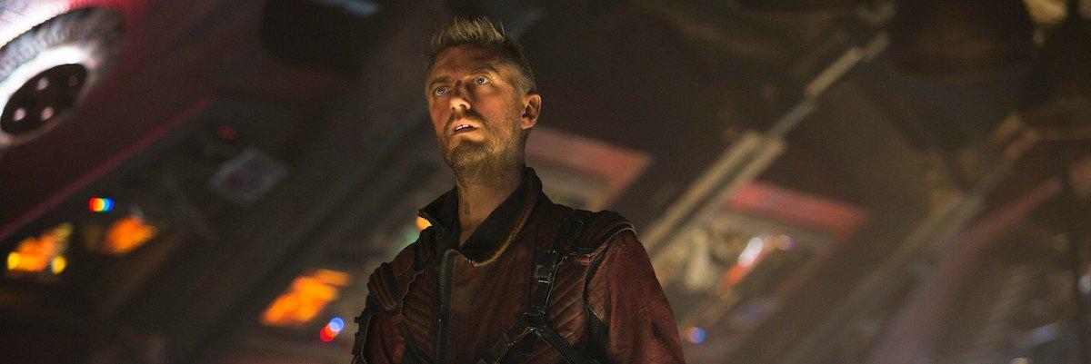 Sean Gunn as Kraglin in Guardians of the Galaxy Vol. 2