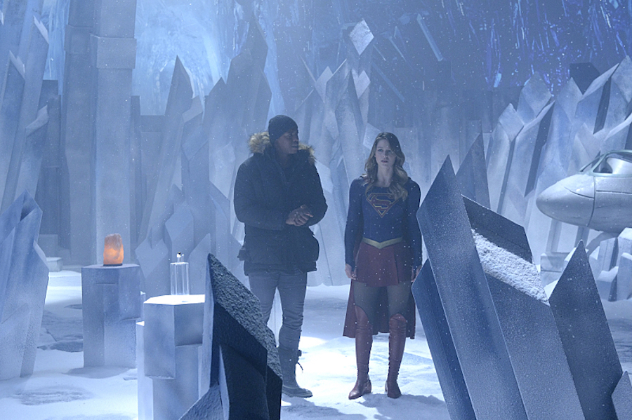 Supergirl: Check Out The First Look At The Fortress Of Solitude #35537