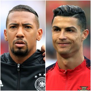 Jerome Boateng and Cristiano Ronaldo