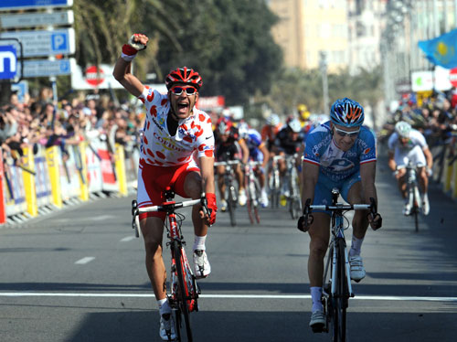Amael Moinard wins, Paris-Nice 2010, stage seven