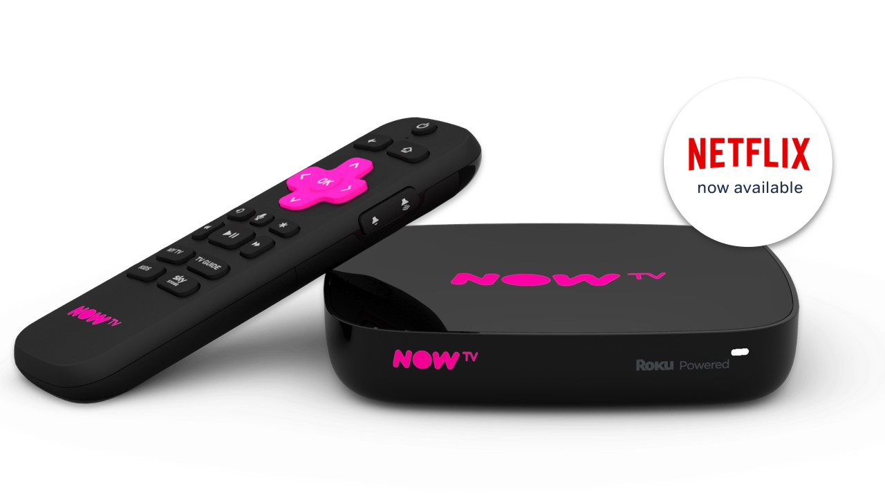 now TV box 4K