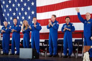 Astronauts Return Home to Houston After 'Amazing, Exciting' Flight