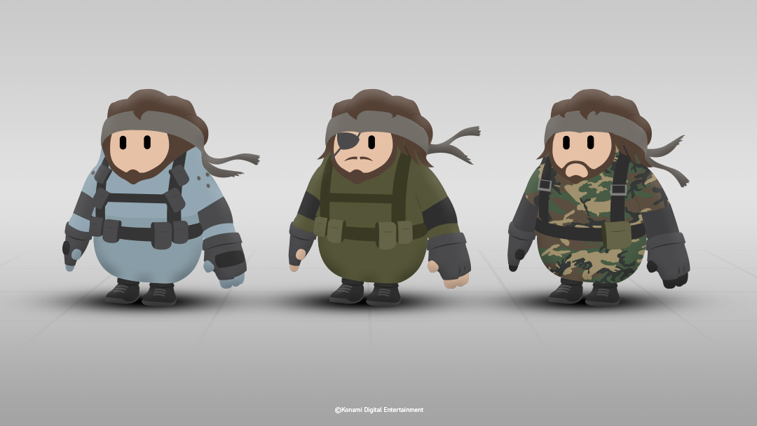Konami wants in on Fall Guys with its Metal Gear-themed outfits