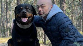 tiktok dog star Nato and owner