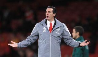 Arsenal v Eintracht Frankfurt – UEFA Europa League – Group F – Emirates Stadium