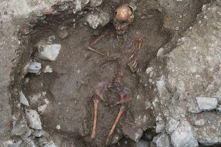 Italian teen witch skeleton