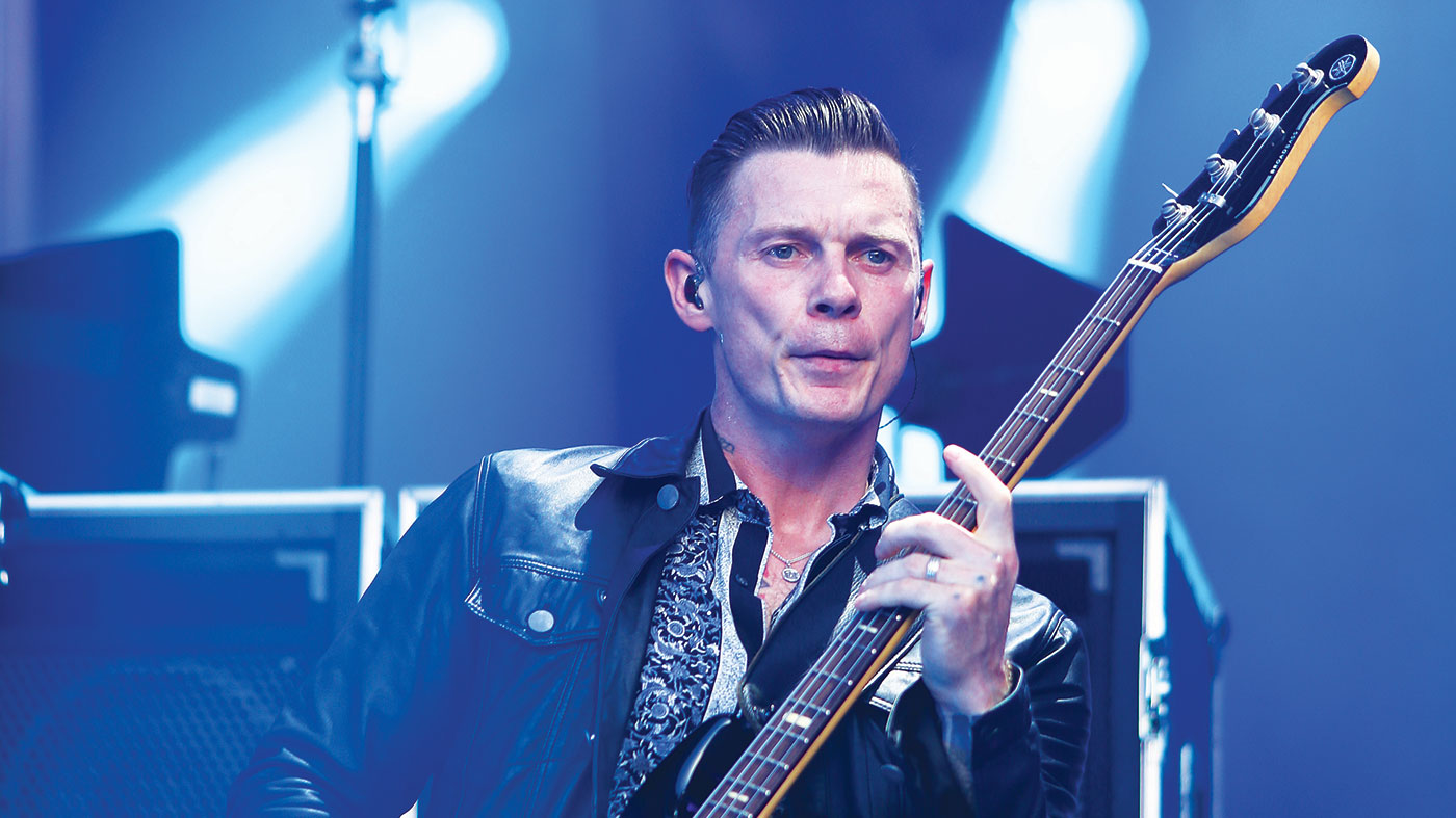 """Stereophonics' Richard Jones: """"I always had an affinity with the bass"""""""