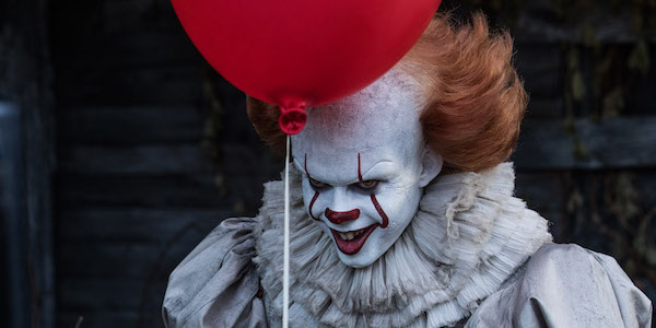 Pennywise in IT movie