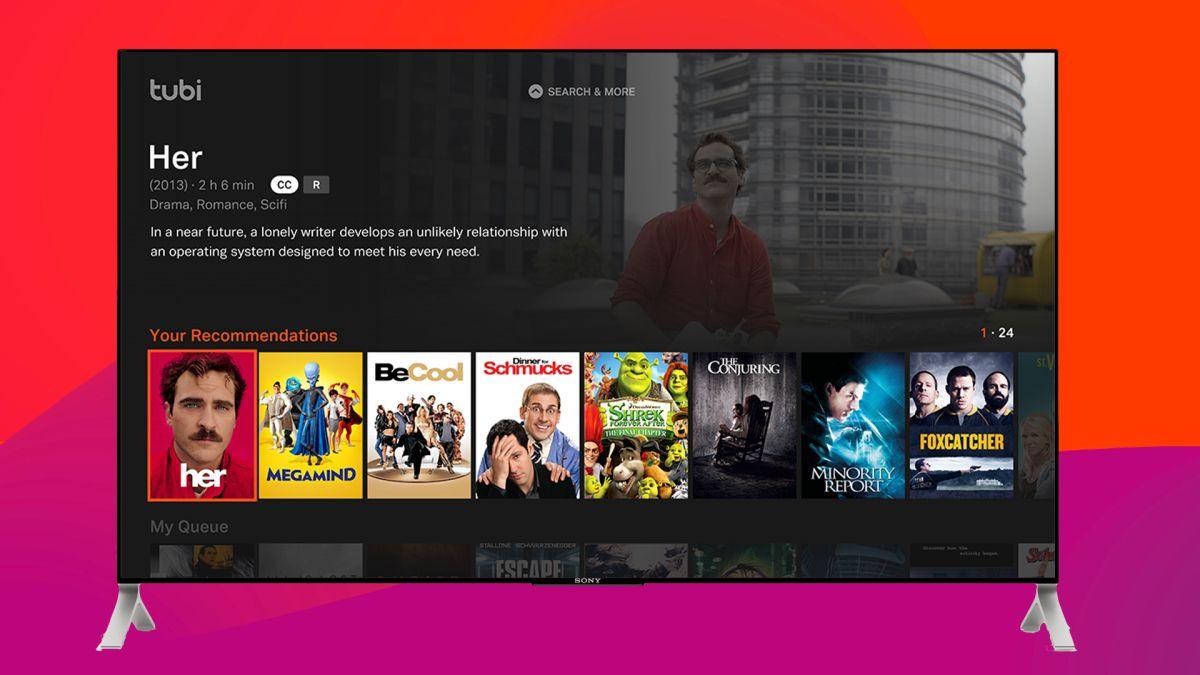 Tubi filmes e séries grátis