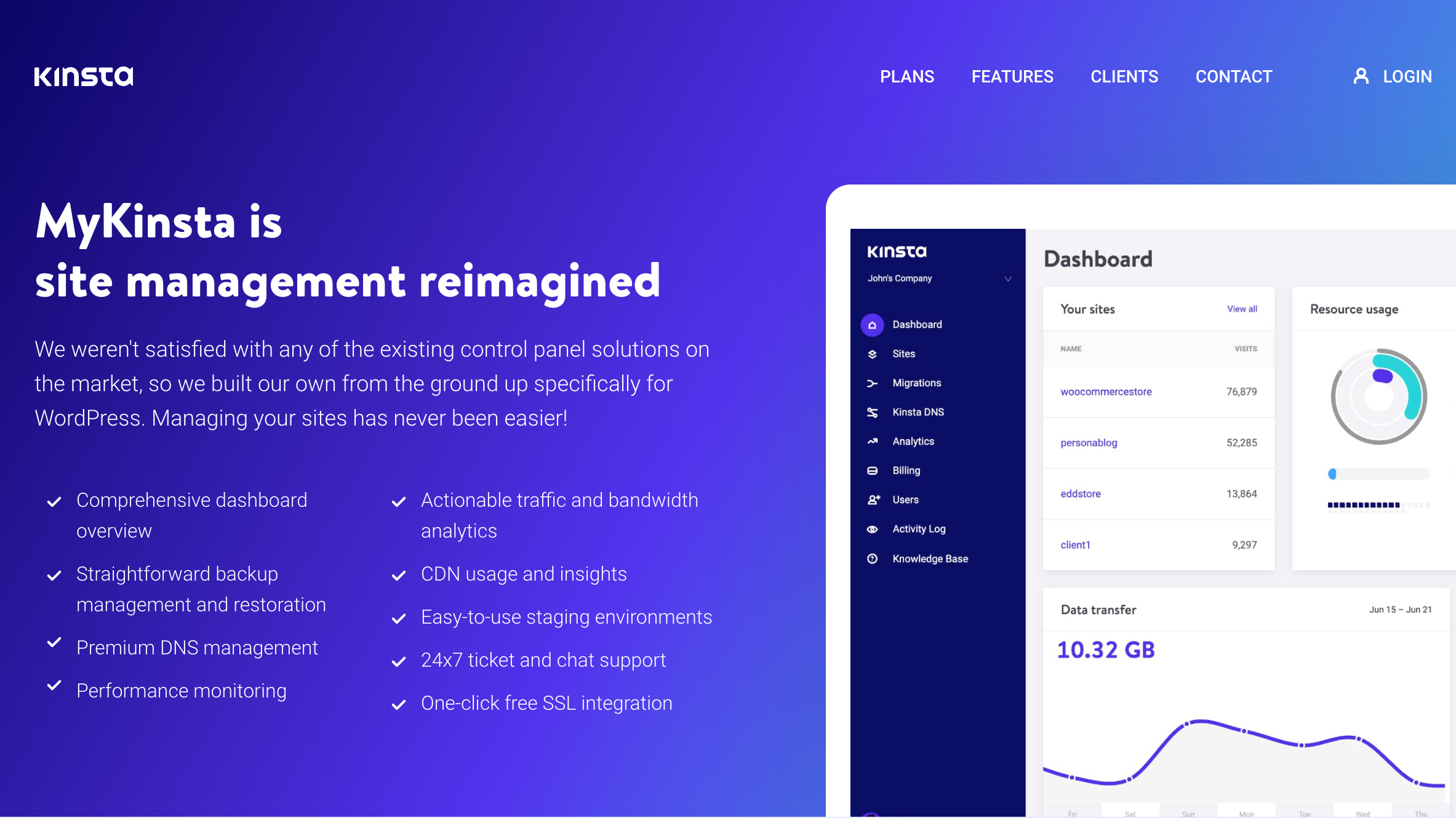 Kinsta: WordPress hosting made easy | Creative Bloq